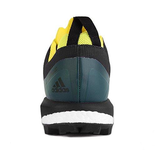 adidas Terrex Agravic GTX Dark Grey Black Yellow 42.5