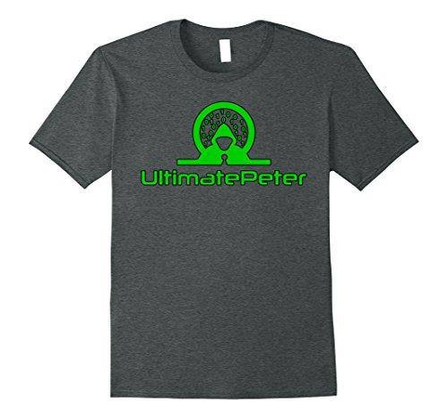 Mens UltimatePeter Hacker Awareness Shirt for Hacking Tutorials XL Dark Heather (Hacker Gear)