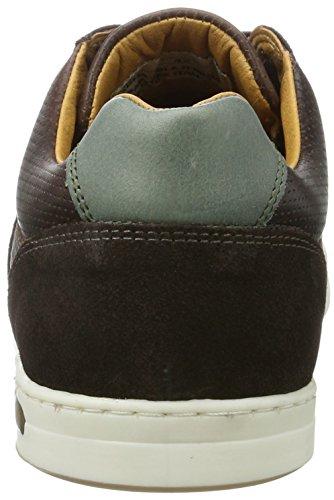 Pantofola Doro Herren Mondovi Uomo Lage Sneaker Braun (koffieboon)
