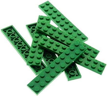 Bausteine Gebraucht 8 X Lego System Leiste Basic Bau Platte Stein