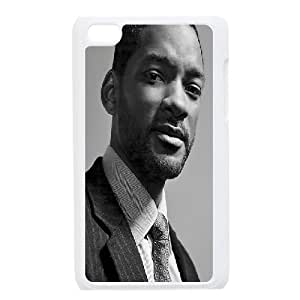 Bloomingbluerose Will Smith Ipod Touch 4 Cases Will Smith ,American Famous Star For Teen Girls, Ipod Touch 4 Cases For Teen Girls For Teen Girls [White]