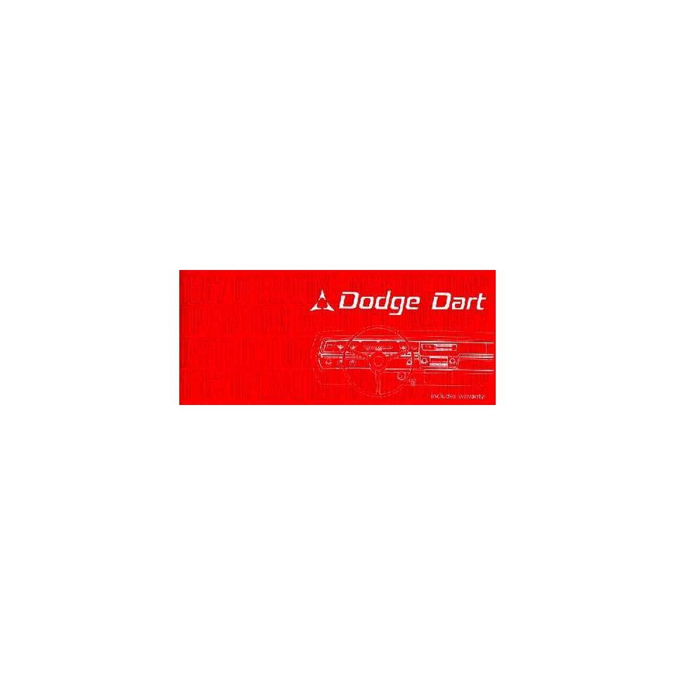 1967 DODGE DART Owners Manual User Guide