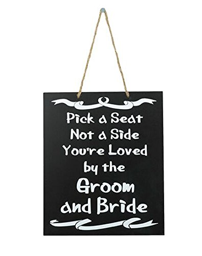 JennyGems Wedding Signs - Pick A Seat Not