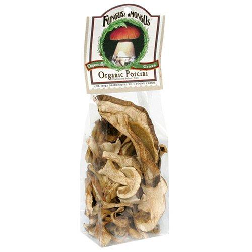 FungusAmongUs Dried Mushrooms, Organic Porcini, 1 Ounce Unit