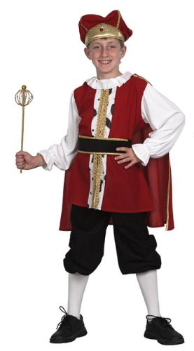 [Medium Boys Medieval King Costume] (2 Year Old Costumes Uk)