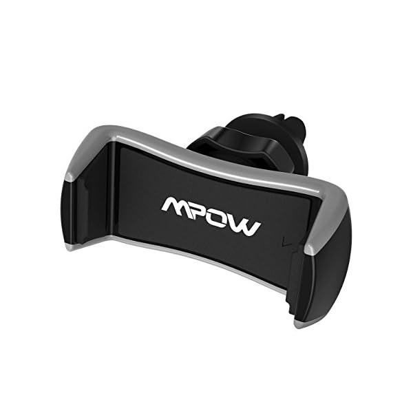 Mpow Supporto auto per telefono con fissaggio alle griglie di aerazione, Supporto auto universale alla griglia di… 1 spesavip