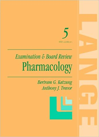 Pharmacology examination board review 9780838577080 medicine pharmacology examination board review 5th edition fandeluxe Choice Image