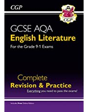 New GCSE English Literature AQA Complete Revision & Practice - Grade 9-1 (with Online Edition) (CGP GCSE English 9-1 Revision)