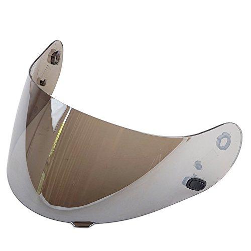 HJC Motorcycle Helmet Anti-Fog Visor for HJ-09/ AC-12/ CL-15/ CL-16/ CL-17/ CL-SP/ CS-R1/ CS-R2/ FS-10/ FS-15/ FG-15/ IS-16 (Silver) by VCOROS