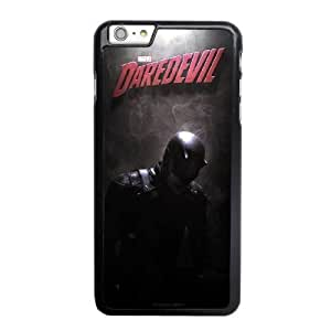 Custom made Case,Daredevil PC Plastic Cell Phone Case for iPhone 6 6S plus 5.5 inch,Black Case With Screen Protector (Tempered Glass) Free S-6633247