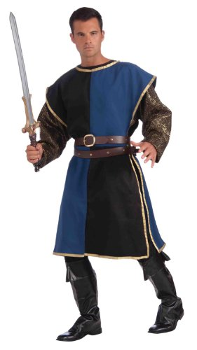 Medieval Tabard Costume - Standard - Chest Size up to 42 (Medieval Halloween Costumes)