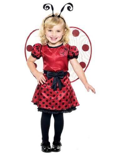 [Ladybug Toddler With Wings Costume, 2T] (Beetle Wings Costume)