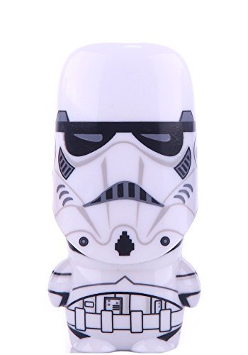 32GB 3.0 Stormtrooper Unmasked Star Wars USB Flash Drive with bonus preloaded Mimory content, Limited Edition MIMOBOT character by - Limited Edition Helmet Stormtrooper