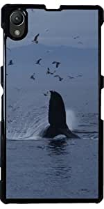 Funda para Sony Xperia Z1 (l39h) - Ballena by WonderfulDreamPicture