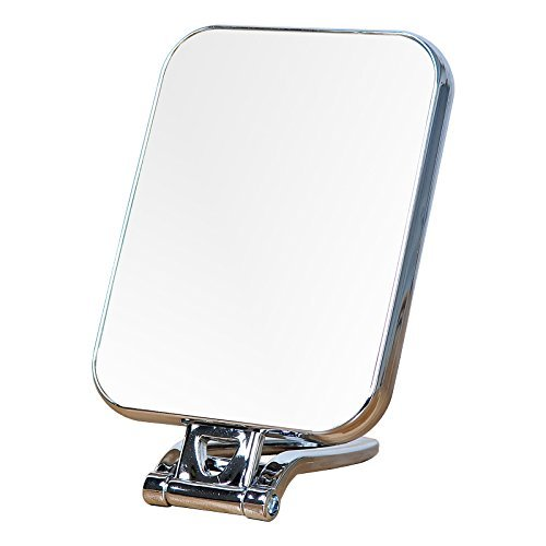 - Cherish XT 3-in-1 Makeup Mirror, Vanity Mirror, Desk Table Mirror, Stand Mirror with Magnified 3X, Desktop Mirror Doubled Sided, 180 Degrees Folding Handle Travel Mirror Desktop Mirror (Rectangle)