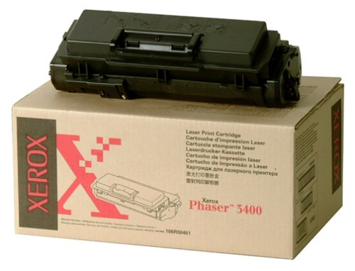 Std Capacity Print Cartridge/Toner for Phaser 3400 4k Yield