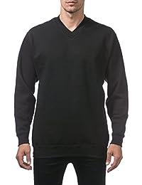 Men's Heavyweight V-Neck Pullover Sweater