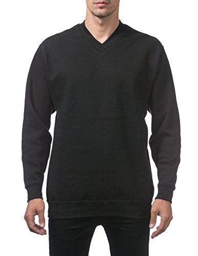 Pro Club Men's Heavyweight V-Neck Pullover Sweater, 3X-Large, (Pro Club Sweatshirts)