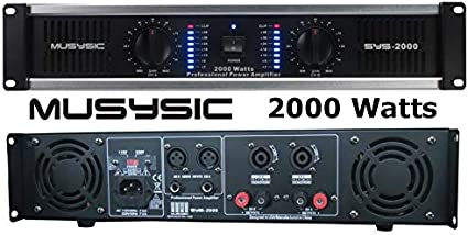 5000 watts amplifier schematic diagrams amazon com 2 channel 2000 watts professional dj pa power  channel 2000 watts professional dj pa
