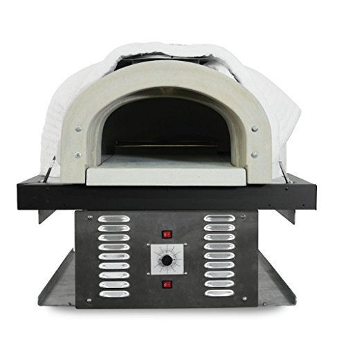 Chicago Brick Oven Natural Gas Hybrid Residential Outdoor Pizza Oven, CBO-750-HYB DIY Kit ()