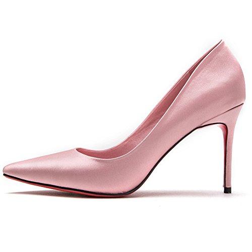 O Sra Alto Tama Apuntado Boca Spring Yixiny 5 Poco H04w7533 uk5 Nuevo Tacn Elegante Zapatos Profundo cn38 Eu38 Cabeza De 7xqOwZBC