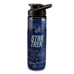 "Star Trek """"Enterprise"""" 24 oz. Stainless Steel Cantimplora"