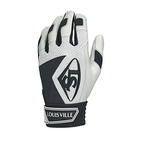 Louisville Slugger Series 7 Youth Batting Glove, Black, Medium