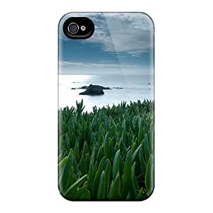 OuToeww1424GXfec Anti-scratch Case Cover Jesussmars Protective Flowers To The Sea Case For Iphone 4/4s