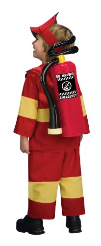 Inflatable Fire Costume Prop