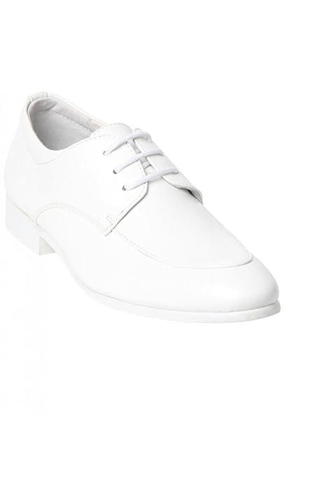 1c138f675a6abc Scarpe Bianche Cerimonia Bambino - Bianco - P-28: Amazon.it: Scarpe e borse