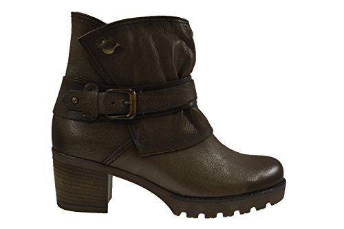 Gabor - Botas de cuero para mujer marrón marrón marrón - marrón