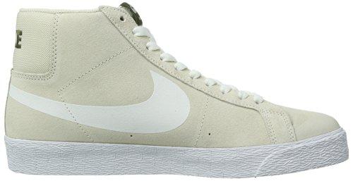 outlet store 0a6b2 263fe Nike SB Men s Blazer SB Premium SE Light Orewood Brown Legion Green Black  White 10 D - Medium