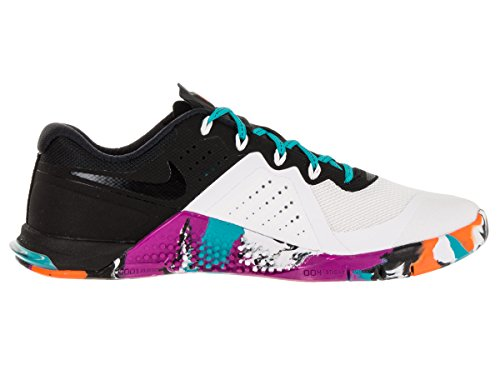 Nike Dames Metcon 2 Trainingsschoen Wit / Gamma Blauw / Hyper Violet / Zwart