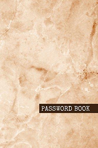 Password book Marble Internet Address & Password Logbook To Protect Usernames and Passwords Modern Password Keeper, Vault, Notebook and Online Organizer (password journal 3) [Crew, Evan] (Tapa Blanda)