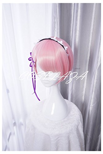 COSPLAZA Cosplay Wigs Short Pink Anime Hair Fashion Girl Synthetic Wig