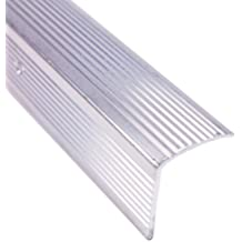 M-D Building Products 78022 Fluted 1-1/8-Inch by 1-1/8-Inch by 36-Inch Stair Edging, Silver