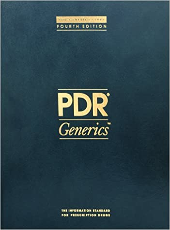 Download online Pdr Generics PDF, azw (Kindle), ePub, doc, mobi