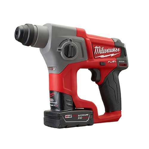 Milwaukee 2416-22XC M12 Fuel 5/8 SDS Plus Kit W/2 Bat