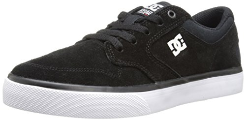 DC Nyjah Vulcanised Skate Shoe (Little Kid/Big Kid), Black/White, 11.5 M US Little Kid by DC