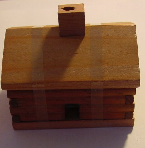 Paine's Log Cabin Burner And 10 Cedar Incense Cones