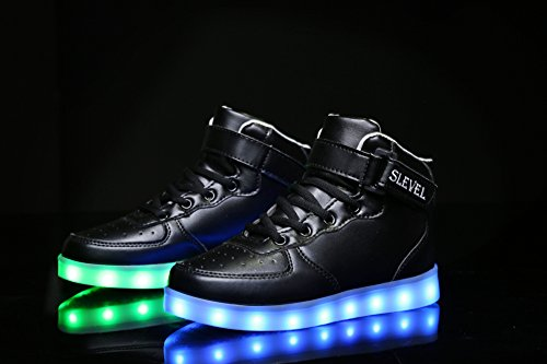 Black Boys Light Up Shoes