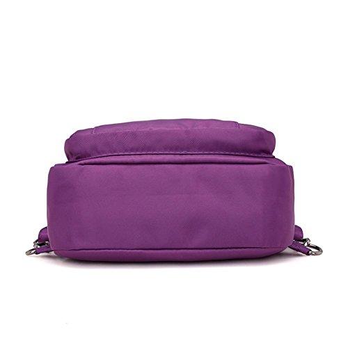 Functional Bag Shoulder Women Backpack Handbag Widewing Vintage Chest Bag Multi Bag wXv6qU0