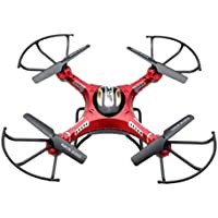 Inkach 6-Axis Gyro 5.8G FPV RC Quadcopter Drone with HD Camera Monitor 2 Battery Gift