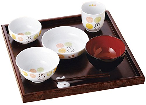 Miffy's Japanese Dish Set(japan Import) by Kinsyo