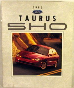 - 1996 Ford Taurus SHO Sales Brochure