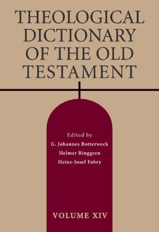 Read Online Theological Dictionary of the Old Testament, Vol. 14 ebook