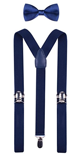 thick light blue suspenders - 7