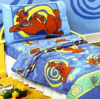 scooby doo sleep time bedding set toddler size boys girls bedding - Scoobydoo Bedding