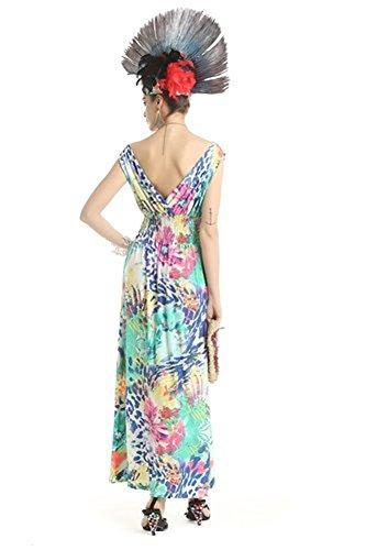 cheetah print long prom dresses - 4