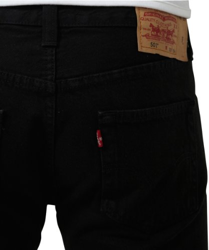 Tapered Levis Customized amp; Brand Uomo 501 Nero black Jeans PrwrIqndx